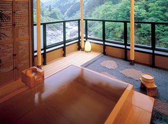 源泉掛け流し露天風呂付特別客室 北岳 3