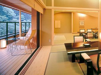 源泉掛け流し露天風呂付特別客室 北岳 4