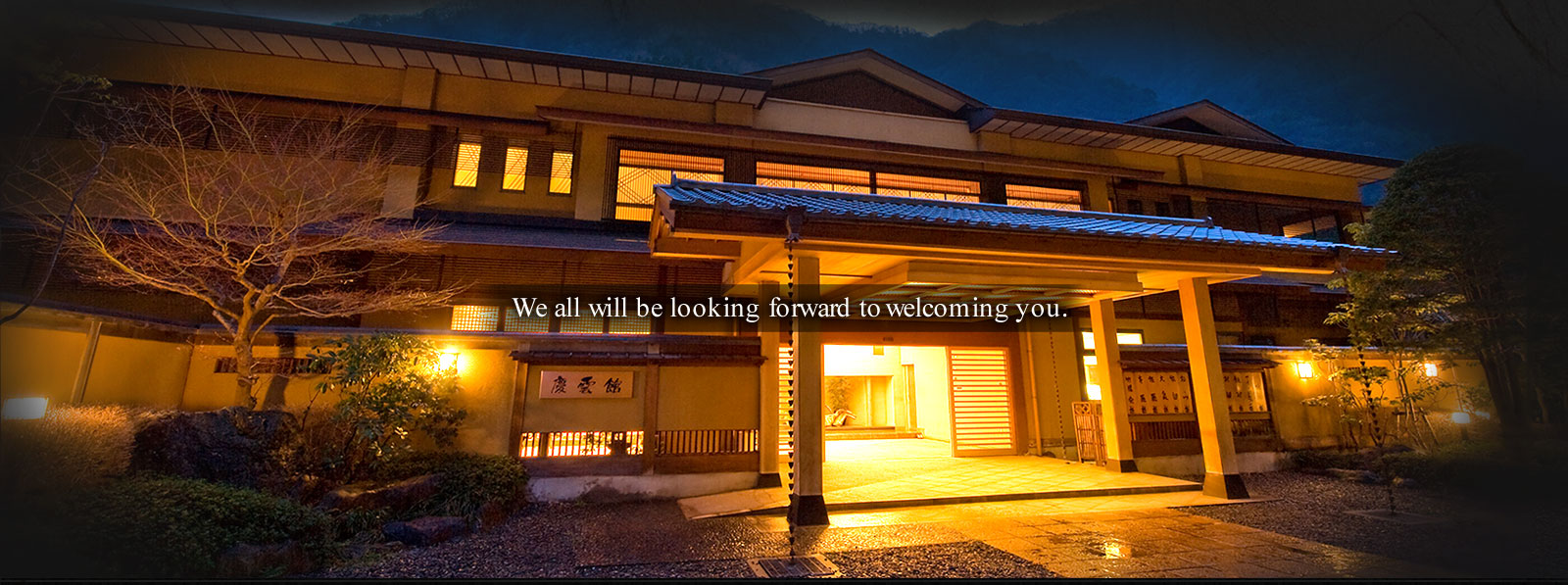 We all will be looking forward to welcoming you.