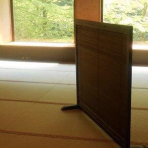 食事処「慶雲の間」の畳を抗菌タイプに